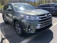New 2019 Toyota Highlander Hybrid XLE V6 SUV near Boston