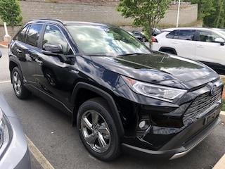 New 2019 Toyota RAV4 Hybrid Limited SUV for sale near you in Auburn, MA