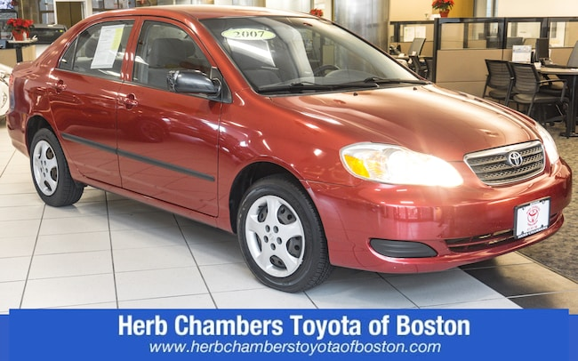 Used wheelchair accessible vehicle 2007 Toyota Corolla CE Sedan for sale in Burlington, MA