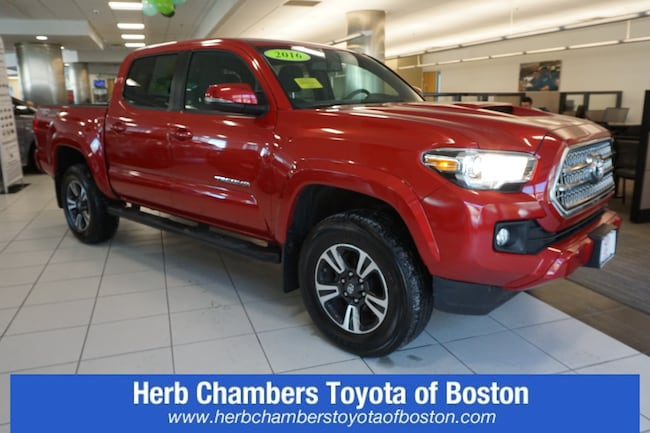 c074d1e70a Used 2016 Toyota Tacoma TRD Sport V6 Truck Double Cab Danvers