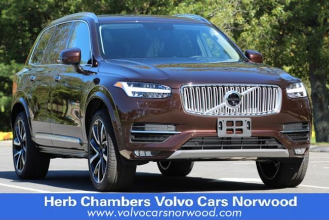 New 2018 Volvo XC90 T6 AWD Inscription (7 Passenger) SUV in Norwood, MA