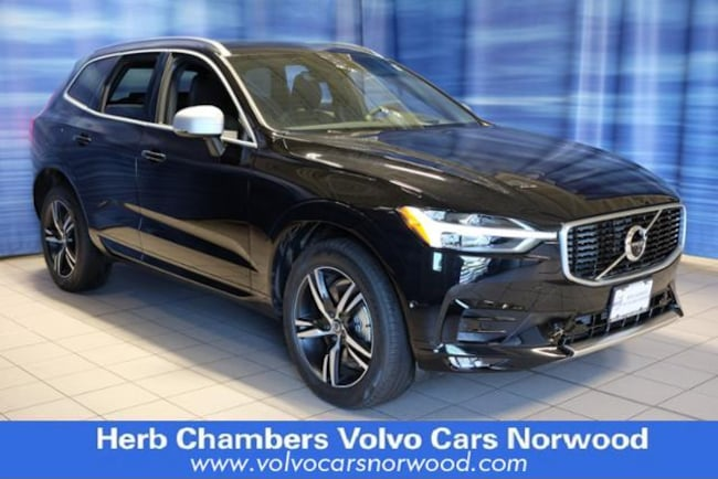New 2018 Volvo XC60 T6 AWD R-Design SUV in Norwood, MA
