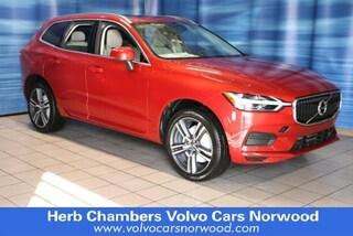 New 2019 Volvo XC60 T5 Momentum SUV LYV102RK2KB234828 Norwood, MA