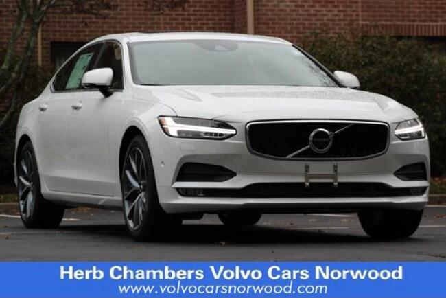New 2018 Volvo S90 T6 AWD Momentum Sedan in Norwood, MA