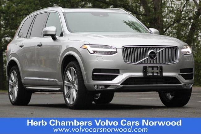 New 2018 Volvo XC90 T6 AWD Inscription (7 Passenger) SUV in Norwood, MA