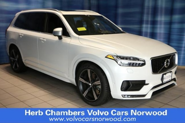 New 2018 Volvo XC90 T6 R-Design SUV in Norwood, MA
