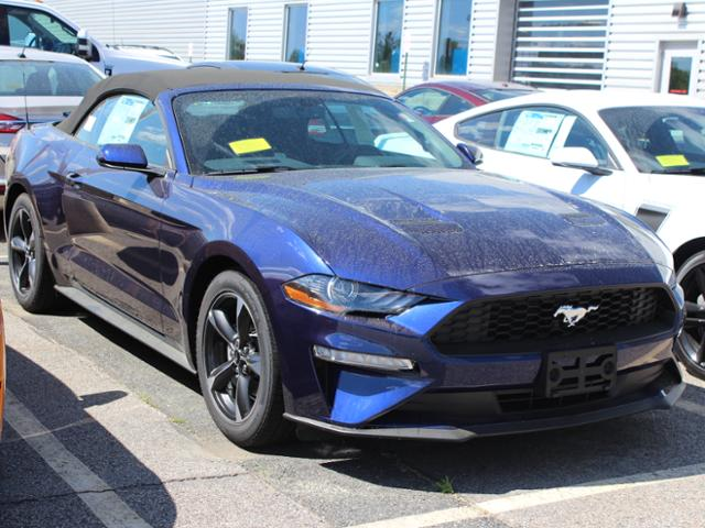 Featured new Ford cars, trucks, and SUVs 2018 Ford Mustang Convertible for sale near you in Westborough, MA