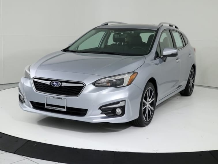 Certified Pre-Owned 2018 Subaru Impreza 2.0i Limited Navigation-Moonroof-Eyesight 5-door Silver Spring MD