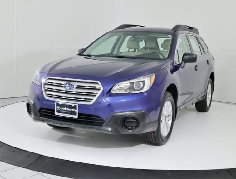 Certified Pre-Owned 2017 Subaru Outback 2.5i SUV Silver Spring MD