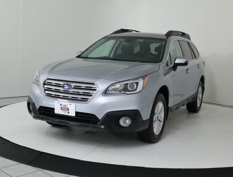Certified Pre-Owned 2017 Subaru Outback 2.5i Premium Eyesight Pkg-Power Gate SUV Silver Spring MD