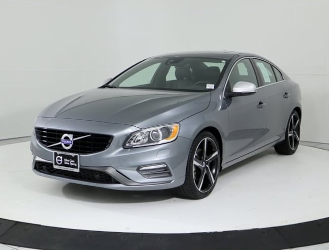 Pre-Owned 2016 Volvo S60 T5 R-Design Special Edition Sedan for sale in Silver Spring