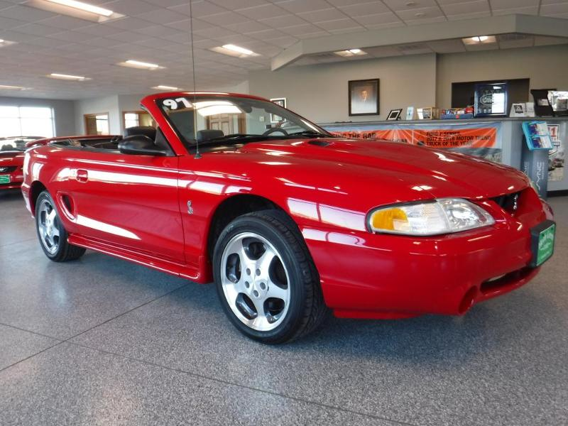 1997 Ford Mustang SVT Cobra Convertible