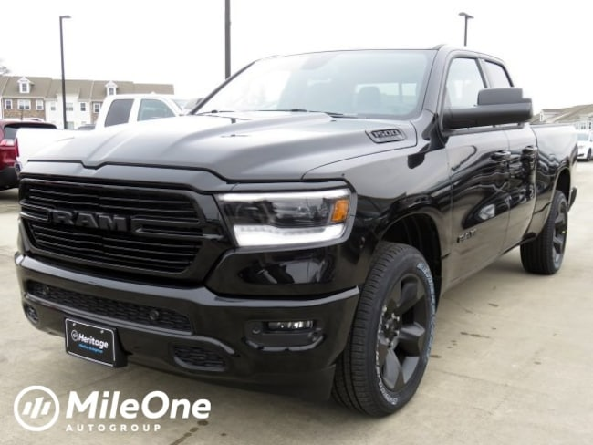 New 2019 Ram 1500 BIG HORN / LONE STAR QUAD CAB 4X4 6'4 BOX Quad Cab Owings Mills