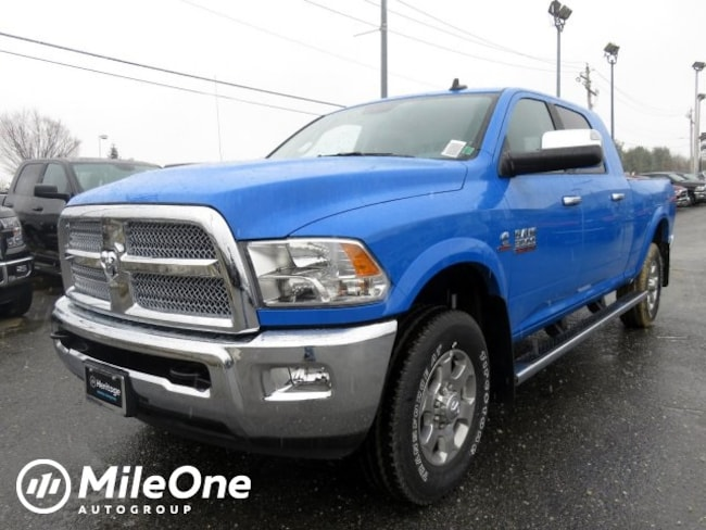New 2018 Ram 3500 BIG HORN MEGA CAB 4X4 6'4 BOX Mega Cab Owings Mills