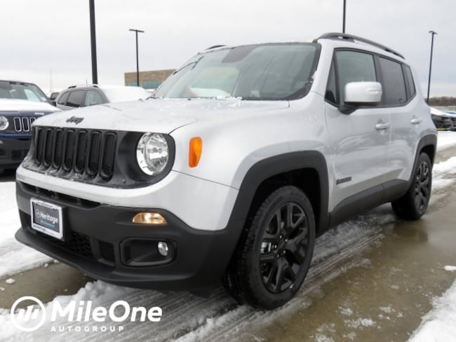 New 2018 Jeep Renegade ALTITUDE 4X2 Sport Utility Owings Mills
