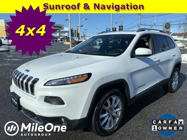Used 2015 Jeep Cherokee Limited 4x4 SUV Owings Mills