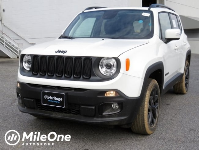 New 2018 Jeep Renegade ALTITUDE 4X4 Sport Utility Owings Mills