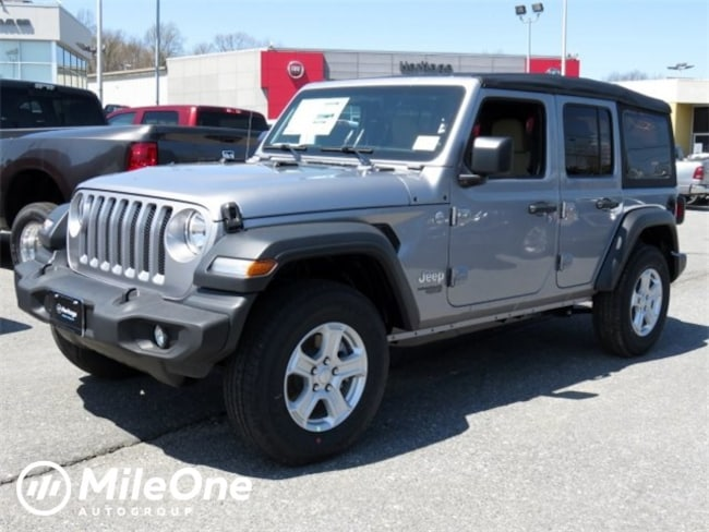 New 2018 Jeep Wrangler UNLIMITED SPORT S 4X4 Sport Utility for sale in Baltimore, MD