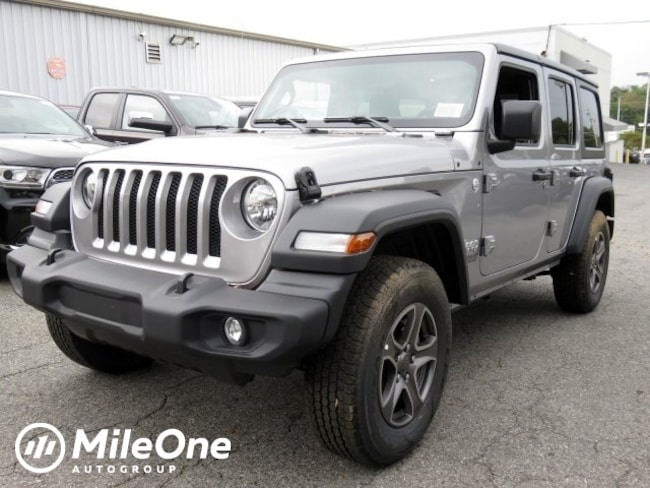New 2018 Jeep Wrangler UNLIMITED SPORT S 4X4 Sport Utility Owings Mills