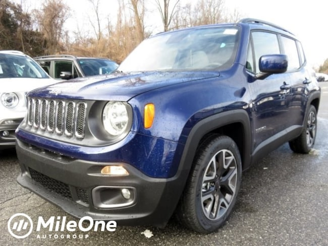 New 2018 Jeep Renegade LATITUDE 4X2 Sport Utility Owings Mills
