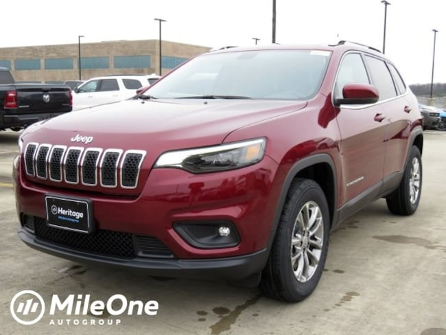 New 2019 Jeep Cherokee LATITUDE PLUS 4X4 Sport Utility Owings Mills