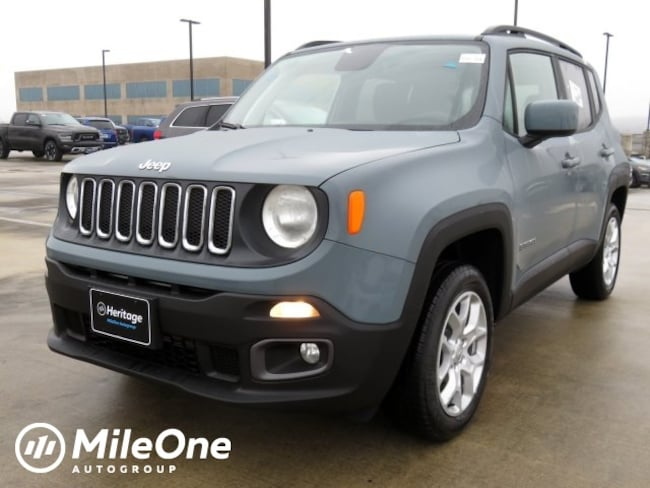 New 2018 Jeep Renegade LATITUDE 4X4 Sport Utility Owings Mills
