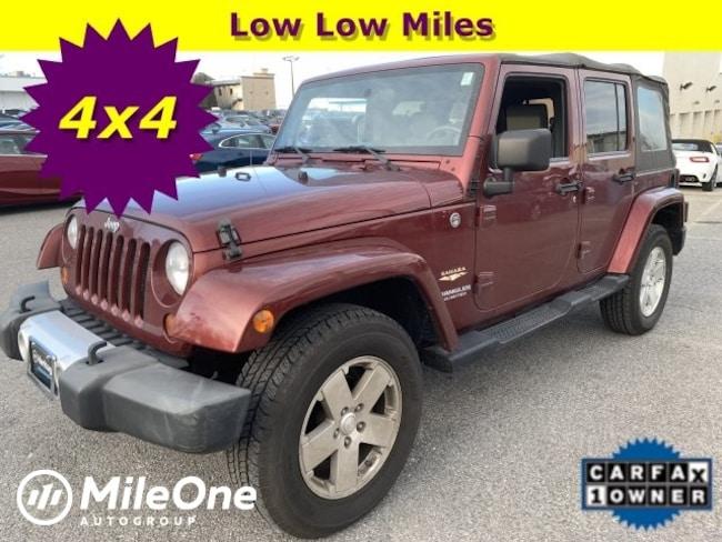 Used 2008 Jeep Wrangler Unlimited Sahara SUV Owings Mills