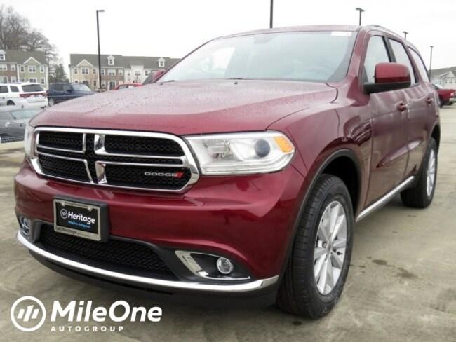 New 2019 Dodge Durango SXT PLUS AWD Sport Utility Owings Mills