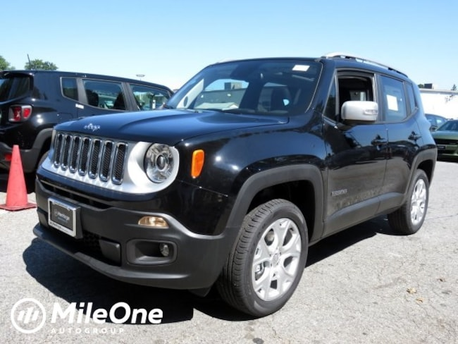New 2018 Jeep Renegade LIMITED 4X4 Sport Utility Owings Mills