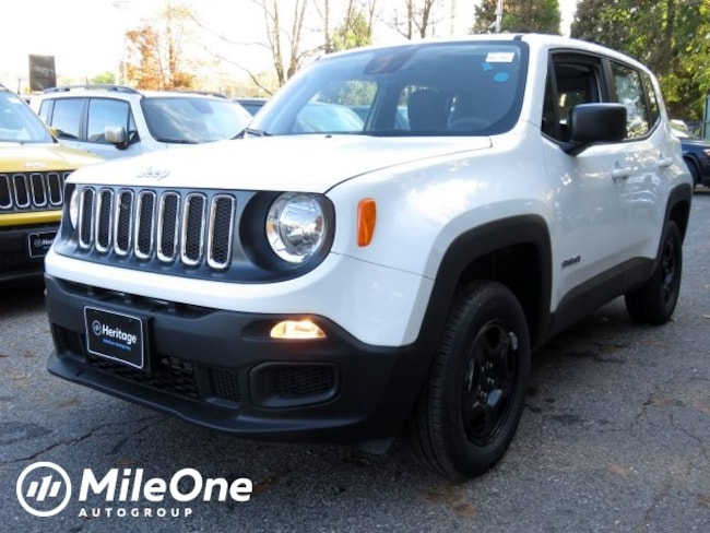 New 2018 Jeep Renegade SPORT 4X4 Sport Utility for sale in Baltimore, MD