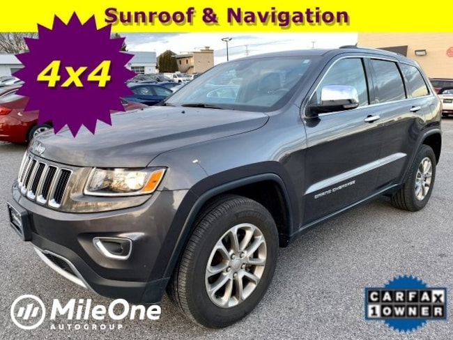 Used 2016 Jeep Grand Cherokee Limited 4x4 SUV Owings Mills