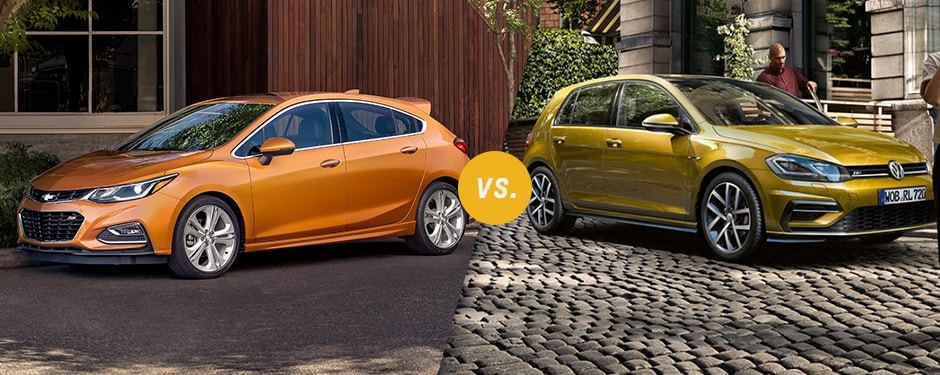 Comparison: 2017 Chevrolet Cruze Hatchback vs 2017 Volkswagen Golf