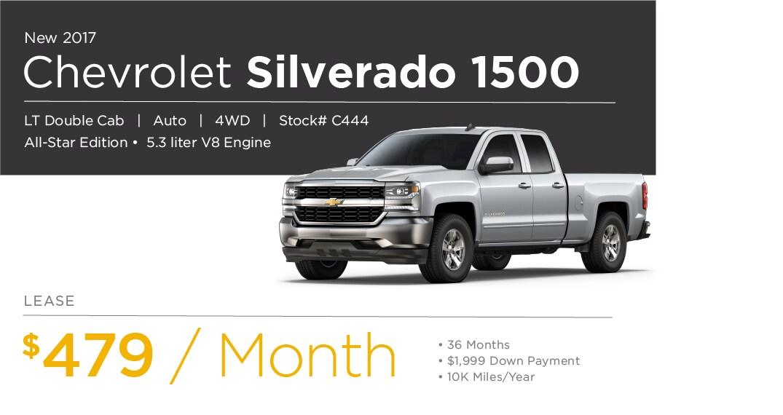 Chevrolet Silverado Lease Special Offer