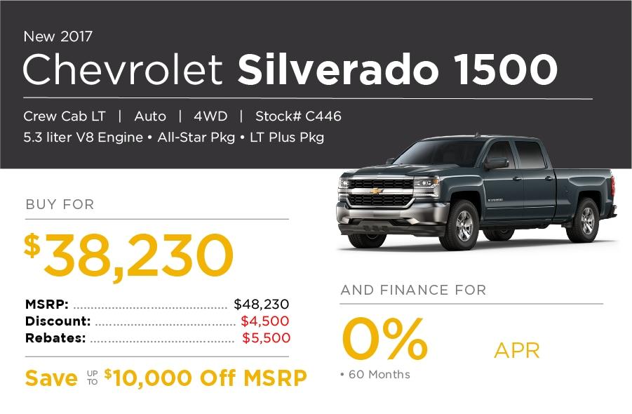 Chevrolet Silverado Special Offer
