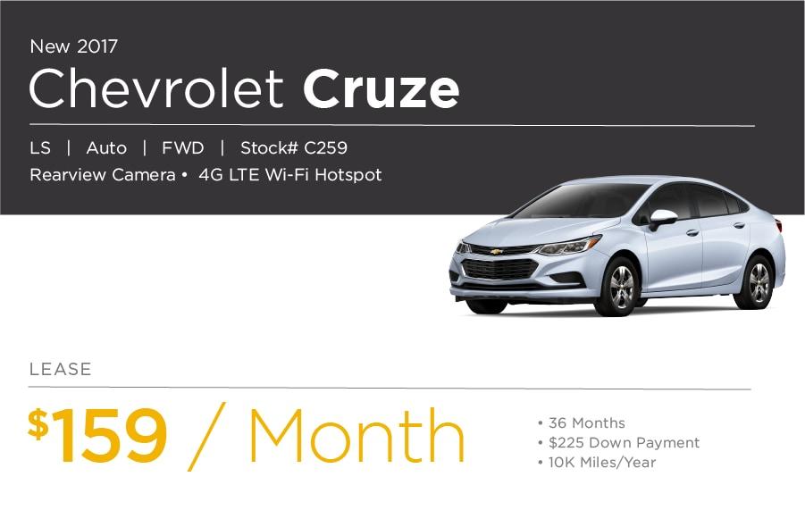 Chevrolet Cruze Special Offer