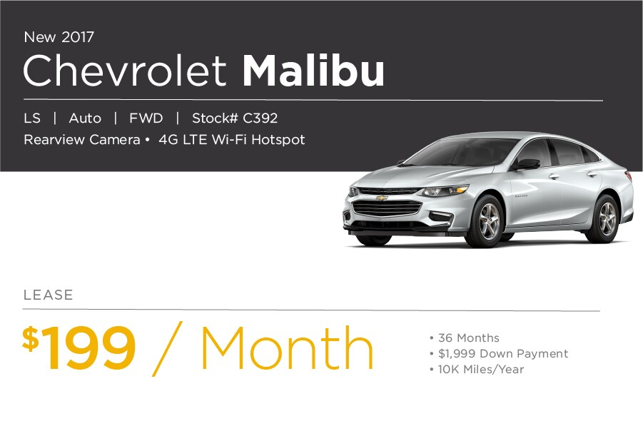 Chevrolet Malibu Special Offer