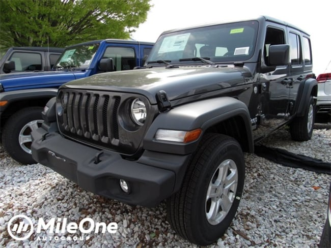 New 2019 Jeep Wrangler UNLIMITED SPORT S 4X4 Sport Utility for sale in Baltimore, MD