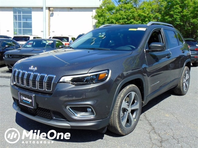 New 2019 Jeep Cherokee LIMITED FWD Sport Utility Owings Mills