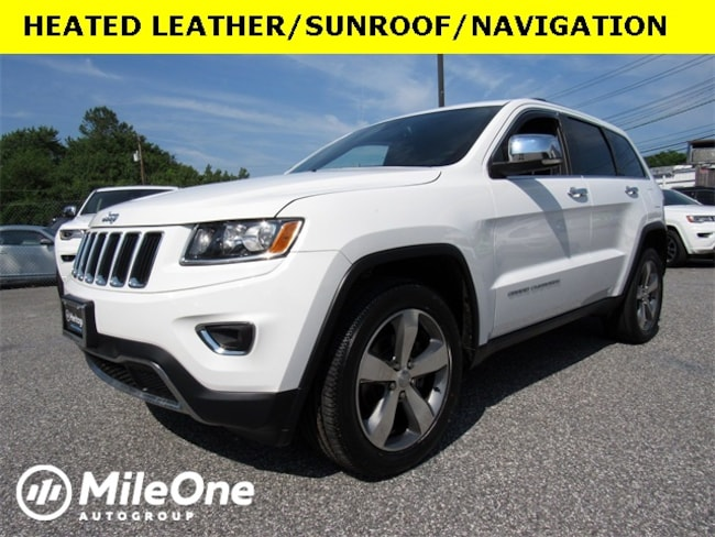 Used 2016 Jeep Grand Cherokee Limited 4x4 SUV for sale in Baltimore