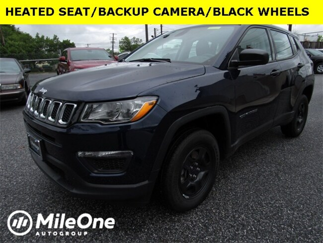 Used 2018 Jeep Compass Sport 4x4 SUV for sale in Baltimore
