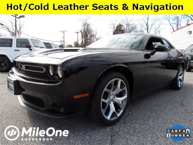 Used 2016 Dodge Challenger SXT Coupe for sale in Baltimore
