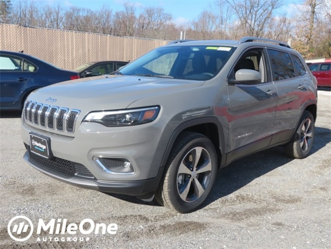 New 2019 Jeep Cherokee LIMITED 4X4 Sport Utility for sale in Baltimore, MD