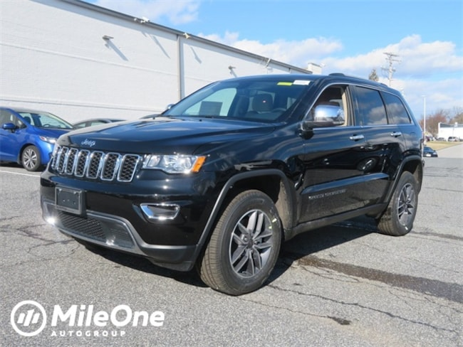 New 2019 Jeep Grand Cherokee LIMITED 4X4 Sport Utility for sale in Baltimore, MD