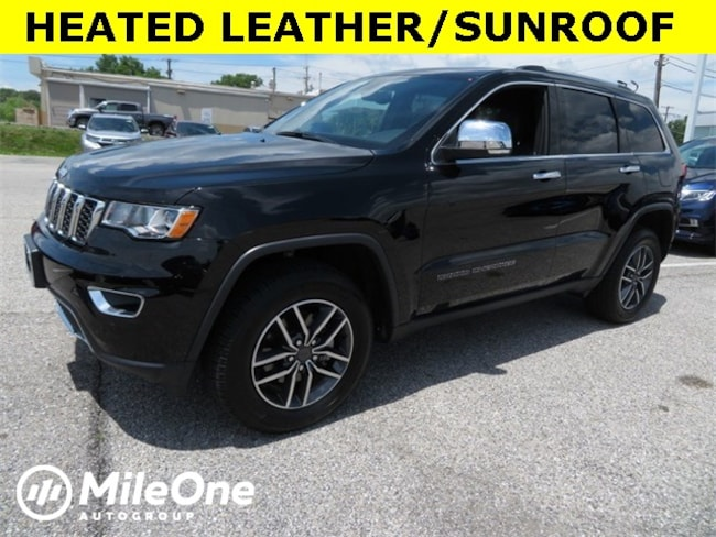Used 2019 Jeep Grand Cherokee Limited SUV for sale in Baltimore
