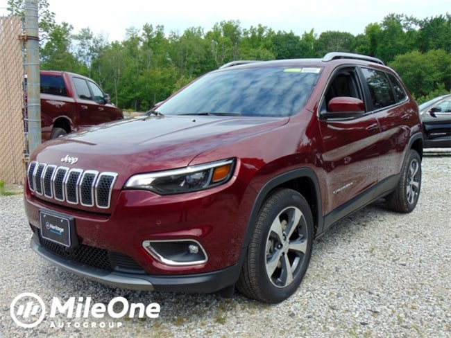 New 2019 Jeep Cherokee LIMITED FWD Sport Utility for sale in Baltimore, MD