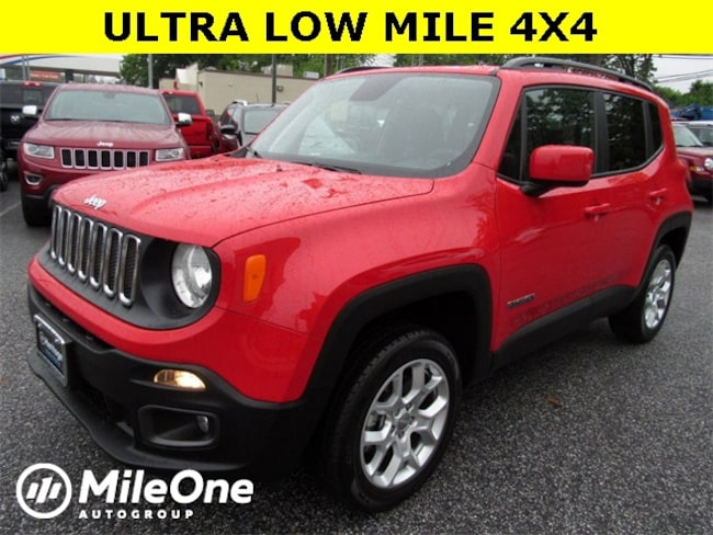 Used 2018 Jeep Renegade Latitude 4x4 SUV for sale in Baltimore