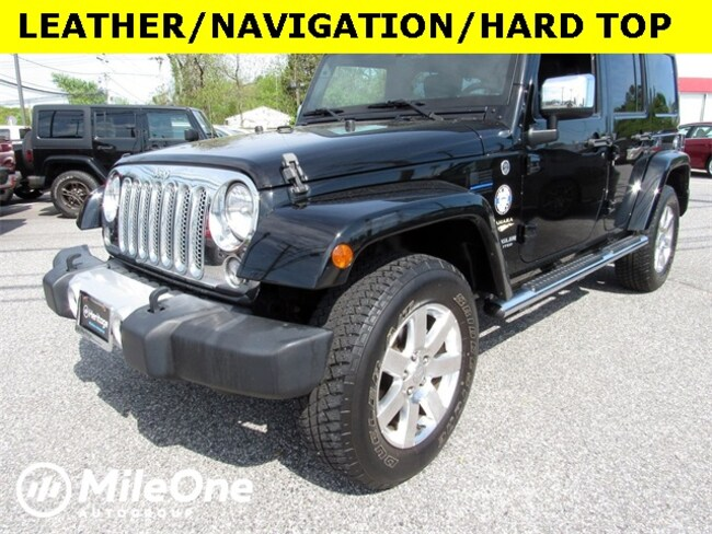 Used 2015 Jeep Wrangler Unlimited Sahara 4x4 SUV for sale in Baltimore