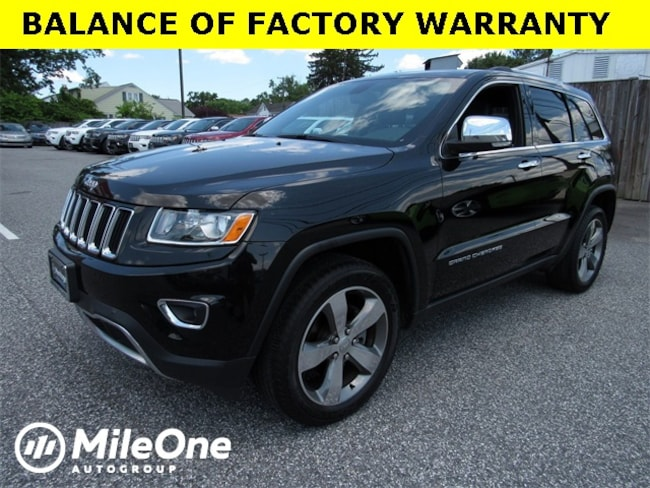 Used 2015 Jeep Grand Cherokee Limited 4x4 SUV for sale in Baltimore