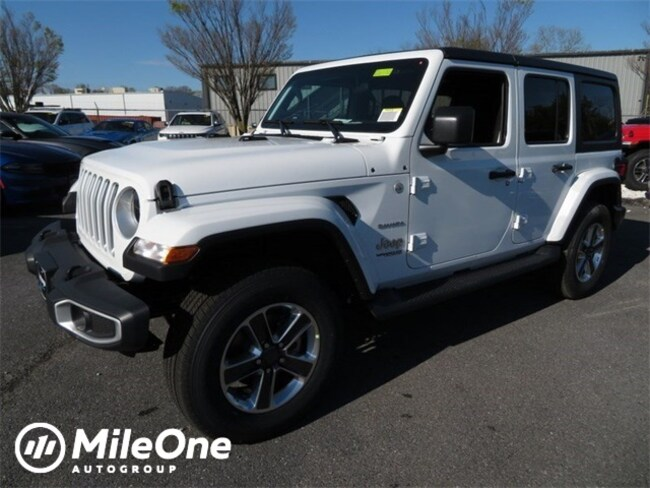 New 2019 Jeep Wrangler UNLIMITED SAHARA 4X4 Sport Utility for sale in Baltimore, MD