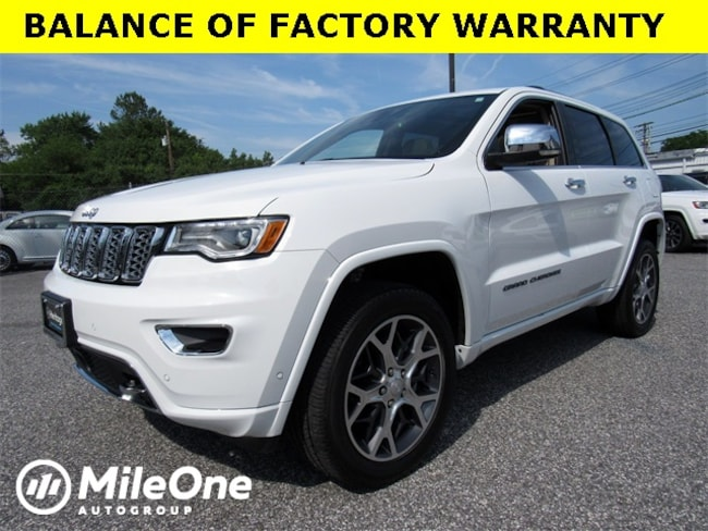 Used 2019 Jeep Grand Cherokee Overland SUV for sale in Baltimore